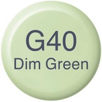 Dim Green G40 Copic Refill
