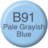 Pale Grayish Blue B91 Copic Refill