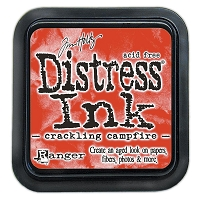 Crackling Campfire Distress Ink Pad