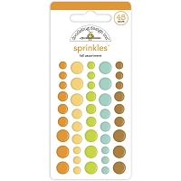 Fall Assortment DB Sprinkles Adhesive Enamel Dots