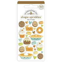 Bake Me Happy DB Sprinkles Adhesive Enamel Shapes