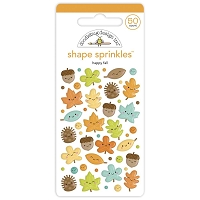 Happy Fall DB Sprinkles Adhesive Enamel Shapes
