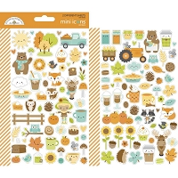 Pumpkin Spice Icons mini Stickers