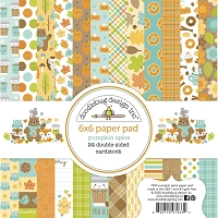 Pumpkin Spice Double-Sided Paper Pad 6X6