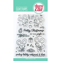 Christmas Mice Stamp & Die Bundle