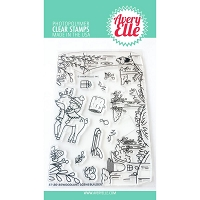 Woodland Scene Builder Stamp