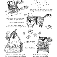 Snarky Cat Christmas