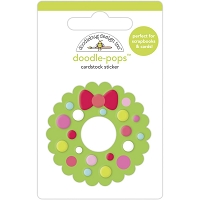 Welcome Christmas Doodlebug Doodle-Pops 3D Stickers