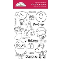 Night Before Christmas Doodlebug Clear Doodle Stamps