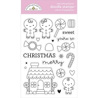 Visions Of Sugarplums Doodlebug Clear Doodle Stamps