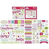 Night Before Christmas Doodlebug Odds & Ends Chit Chat Die-Cuts