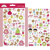 Night Before Christmas DB Mini Cardstock Stickers 2/Pkg