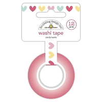 Candy Hearts Washi Tape