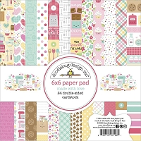Made With Love Doodlebug Double-Sided Paper Pad 6