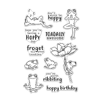 Hoppy Day Hero Arts Clear Stamp