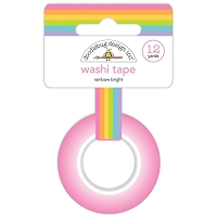 Rainbow Bright Doodlebug Washi Tape