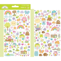 Fairy Garden Dooblebug Mini Cardstock Stickers