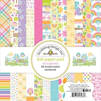 Fairy Garden Doodlebug Double-Sided Paper Pad 6
