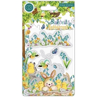 Chicks, Bluebells & Buttercups Craft Consortium A5 Clear Stamps