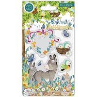 Donkey, Bluebells & Buttercups Craft Consortium A5 Clear Stamps