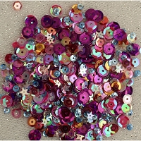 Mixed Berry 28 Lilac Lane  Sequins Tin