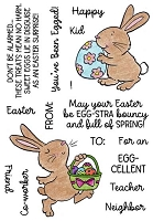 EGGY BUNNIES - CLEAR STAMP SET