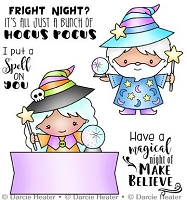 Hocus Pocus Clear Stamp set
