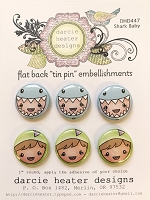 Shark Baby - Tin pins