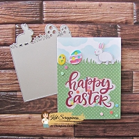 Easter Border Coverplate Die by Kat Scrappiness