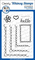 FaDoodles Frames Clear Stamps