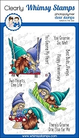 Gnome One Else Clear Stamps