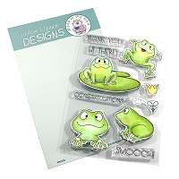 Frogs 4x6 Clear Stamp Set (ENGLISH VERSION)