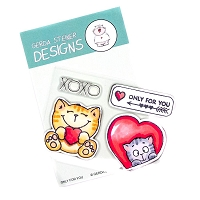 Only for you 3x4 Clear Stamp Set