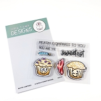 Muffin Compares to You 3x4 Clear Stamp Set