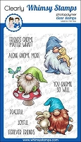 Gnome Friends Clear Stamps