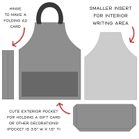 Apron A2 Card | Honey Cuts Regular price