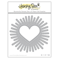 Radiant Heart Background | Honey Cuts