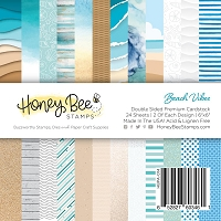Paper Pad 6x6 | 24 Double Sided Sheets | Beach Vibes