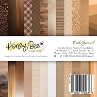 Paper Pad 6x6 | 24 Double Sided Sheets | Fresh Brewed