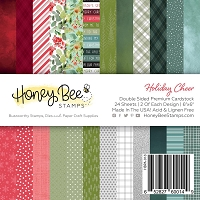 Paper Pad 6x6 | 24 Double Sided Sheets | Holiday Cheer
