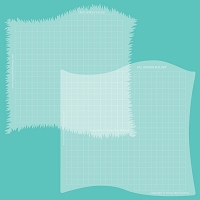 Grassy Hill Borders | Stencils | Set of 2 Regular price