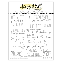 Pearfect Sentiments | 6x6 Stamp Set