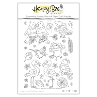 Birds of Paradise | 6x8 Stamp Set
