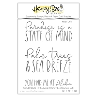 Sea Breeze | 3x4 Stamp Set