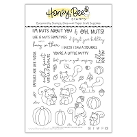 Nuts About You | 6x8 Stamp Set
