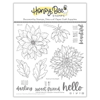 Darling Dahlias | 6x6 Stamp Set