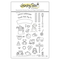 Toy Store House Builder Add-on | 4x6 Stamp Set