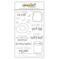 To My Butter Half | 4x6 Stamp Set