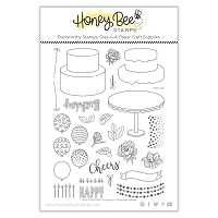 Fancy Frosting | 6x8 Stamp Set