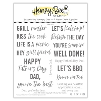 Kiss The Cook | 6x6 Stamp Set